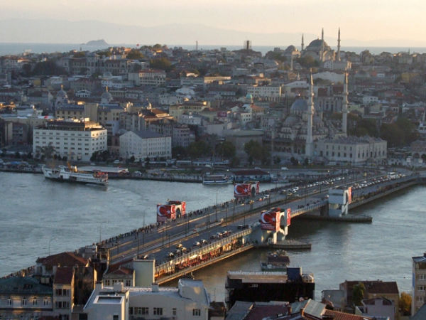 The New Galata Bridge